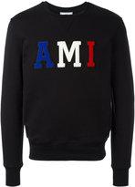 Ami Alexandre Mattiussi ami logo sweatshirt - men - Cotton - S