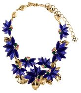 Oscar de la Renta Crystal & Resin Collar Necklace