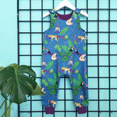Sprout Tropical Organic Dungarees