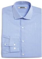 DKNY Boys' Mini Check Dress Shirt - Sizes 8-20
