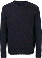 Jil Sander crew neck knitted sweater - men - Wool - 48
