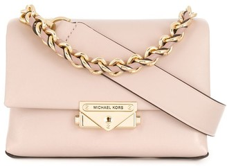 MICHAEL Michael Kors Leather Chain Tote Bag