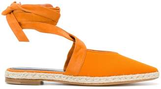 J.W.Anderson lace-up espadrille flats