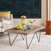 Safavieh Mid-Century Modern Amos Light Grey / Black Coffee Table