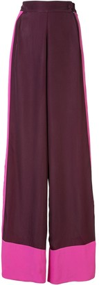 Taller Marmo Contrasting Trim Trousers