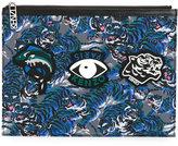 Kenzo multi icon clutch - women - Polyester - One Size