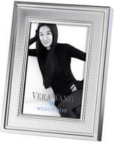 "Vera Wang Wedgwood Wedgwood Grosgrain Silver Frame 4""X6"