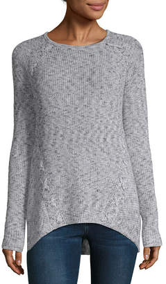 A.N.A Womens Crew Neck Long Sleeve Pullover Sweater