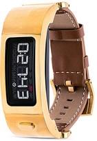 Garmin Vivofit 2 Leather Fitness Tracker, 11mm & Black Strap Set