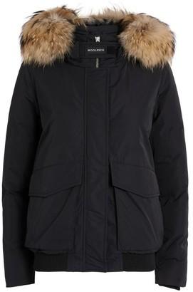 Woolrich Fur-Trim Lux Bomber Jacket