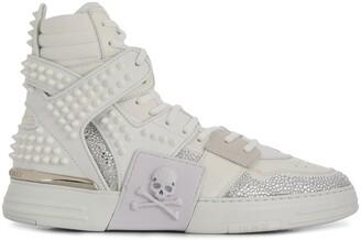 Philipp Plein high-top PHANTOM KICK$ sneakers