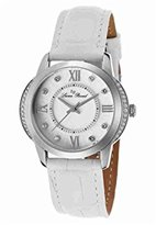Lucien Piccard Women's LP-40001-02S-WHT Dalida Analog Display Quartz White Watch