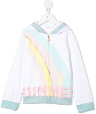 Billieblush Summer hooded sweatshirt