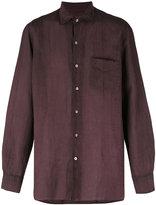 Massimo Alba long sleeve pocket shirt - men - Ramie - M