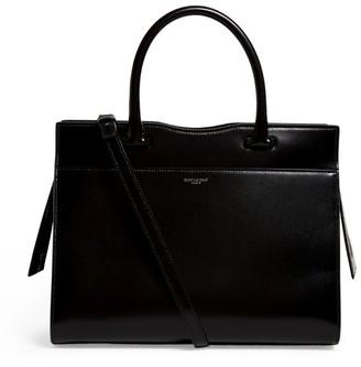 Saint Laurent Medium Leather Uptown Tote Bag