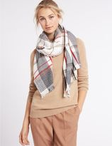 Marks and Spencer Elevated Check Scarf
