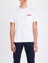 Sandro Amour cotton T-shirt