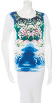Stella McCartney Island Motif Crew-Neck T-Shirt