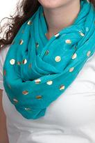 Lexi York Turquoise Infinity Scarf