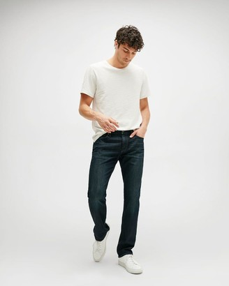 7 For All Mankind Airweft Denim The Straight in Perennial