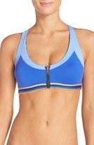 Maaji Women's 'Poolside Bash' Reversible Racerback Bikini Top