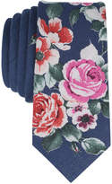 Bar III Men's Para Floral Skinny Tie, Created for Macy's