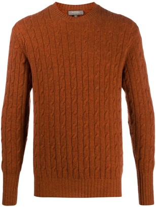 N.Peal Ribbed Knit Jumper