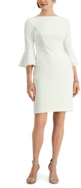 Harper Rose Bell-Sleeve Sheath Dress