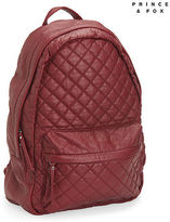 Aeropostale Womens Prince & Fox Quilted Backpack