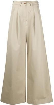 Jejia High-Waisted Wide Leg Trousers