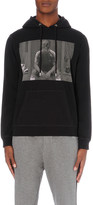 The Kooples Graphic-print cotton-jersey hoody