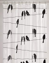 Moda Sitting Birds PEVA Shower Curtain