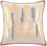 Kensie Nova Metallic Jute Pillow