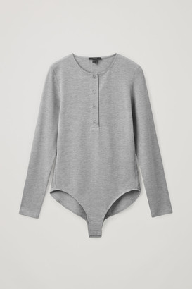 Cos Organic Cotton Henley-Style Body