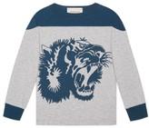 Gucci Boy's L'Aveugle Par Amour Graphic Sweatshirt