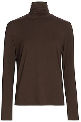 Majestic Filatures Soft Touch Turtleneck Sweater