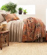 Pine Cone Hill Anatolia Patchwork Kilim Linen Duvet Cover