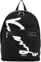 Kenzo Signature backpack - men - Polyester - One Size