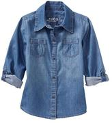 Gap Convertible denim shirt