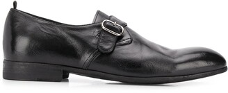 Officine Creative Side Buckle Oxford Shoes