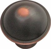 Hickory Hardware P2243-OBH 1-1/4-Inch Savoy Knob, Oil-Rubbed Bronze Highlighted