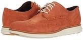 Cole Haan Original Grand Wingtip Oxford (CH British Tan Nubuck/Hawthorn) Men's Shoes