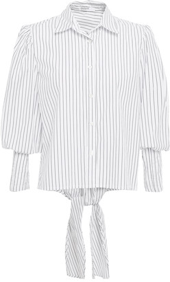 Stateside Striped Cotton-poplin Shirt