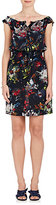 Tomas Maier Women's Floral Silk Off-The-Shoulder Dress