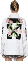 Off-White M65 Embroidered Canvas Field Jacket