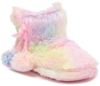 Capelli of New York Pastel Rainbow Faux Fur Boot (Toddler, Little Kid & Big Kid)