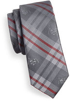 Cufflinks Inc. Darth Vader Plaid Slim Silk Tie