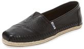 Toms Alpargata Leather Slip-On