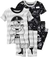 "Carter's Little Boys' Toddler ""Pirate's Life"" 4-Piece Pajama Set"