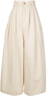 Isabel Marant High-Rise Wide-Leg Trousers